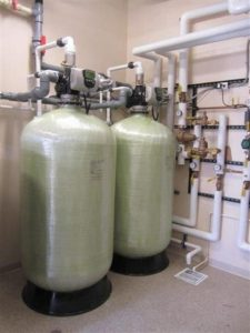 Hyatt hotel water softeners